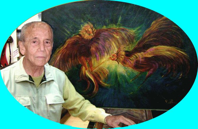 Artista plástico, relacionista público y numismático Alejandro Bellorín
