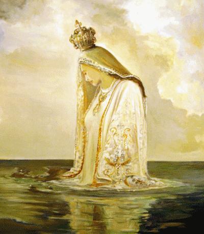 Virgen del Valle (obra de Gabriel Gebrán)