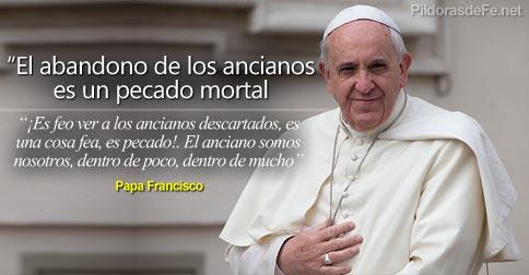 Palabras del Papa Francisco sobre los Ancianos