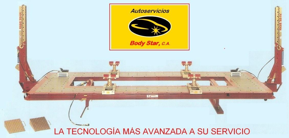 Enderezamiento de compactos, chasis y carrocerías en Margarita:Autoservicios BODY STAR