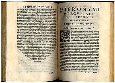 Tratado de Pediatría 'De Morbis Puerorum'