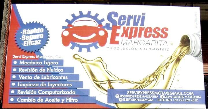 Centros de servicio automotriz en Margarita: SERVI EXPRESS MARGARITA
