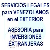Servicios legales para Venezolanos en el exterior
