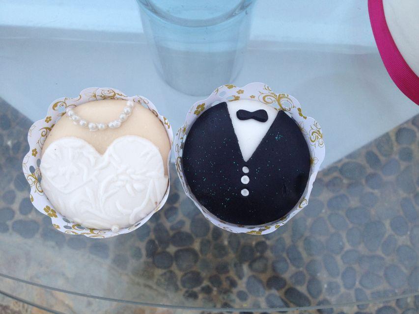 Cupcakes originales de Andreína Martín Cakes